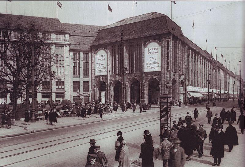 Kaufhaus_Wertheim 1920